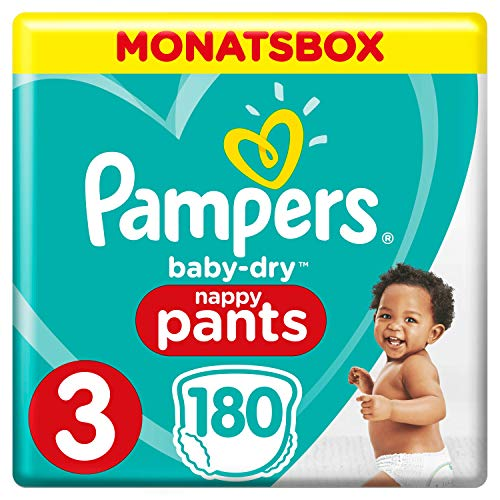 Pampers Baby-Dry Pants, Gr. 3, 6-11kg, Monatsbox, 1er Pack (1 x 24 Stück) (Baby-windel-lotion)