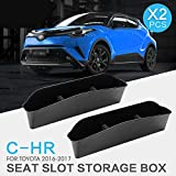 8X-SPEED For Juke Car Seat Gap Filler Pad Prevent items from falling Gap Filler Pad Spacer Leakproof Protective Pad PU Leather Car Seat Slot Plug Pad 2Pcs Blue