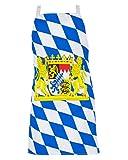 Hochwertige Baumwolle Grillschürze Bayern Wappen für Oktoberfest Fans | One Size