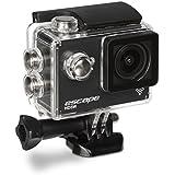 Kitvision Escape HD5W Caméra d'Action HD 1080p avec Wi-fi, Accessoires et Boîtier Étanche - Noir