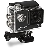 Kitvision Escape HD5W 1080p Waterproof Action Camera with Wi-Fi and Mounting Accessories - Black