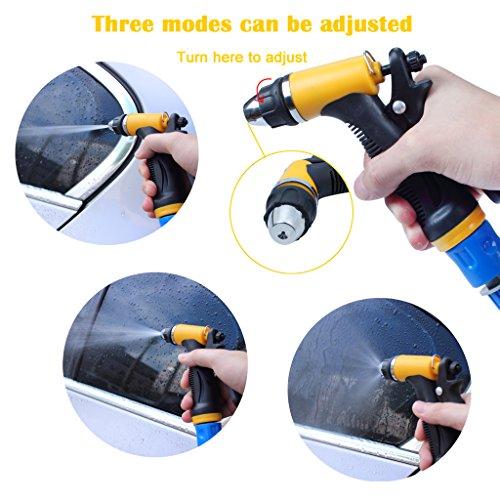 Lavadora eléctrica de coches EFORCAR bomba de lavado de coches de alta presión 12V 80W Lavadora eléctrica de la bomba de la arandela del coche Dispositivo para Auto mascotas Ventana riego y campi