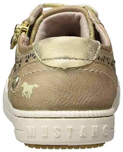 Mustang 5042-302-318, Sneakers Basses Fille Marron (318 Taupe)