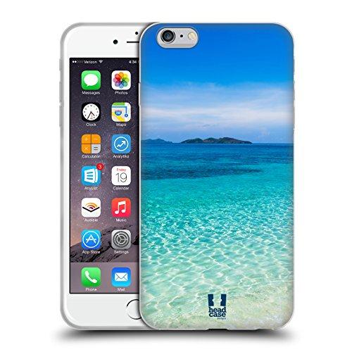 Head Case Designs Coucher Du Soleil Et Voilier Beauté Plage Étui Coque en Gel molle pour Apple iPhone 5 / 5s / SE Plage Tropicale De Sable Malcapuya