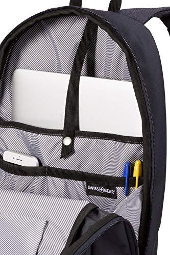 Best swiss gear backpack in India 2020 Swiss Gear Laptop Backpack (Noir Satin) Image 5