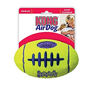 Kong Jouet couineur pour chien Football américain Idéal Interactive Air Livré soit en petit, moyen et grand
