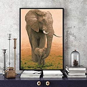 adgkitb canvas 30x45cm No Cornice Sfondo Nero Strisce di Cavallo Decorazioni per la casa Pittura Moderna a1
