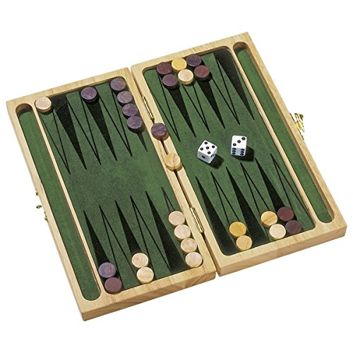 Goki HS056 - Brettspiel - Backgammon