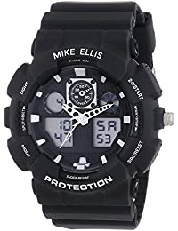 Mike Ellis New York Herren-Armbanduhr XL Digital Quarz Plastik SL4-60221
