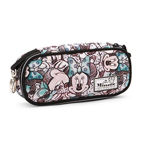 Disney Minnie Mouse Classic Minnie Estuche Portatodo,, 21 cm (Karactermania KM-37563)