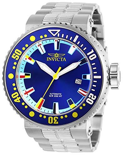Invicta Pro Diver Herren-Armbanduhr 52mm Armband Edelstahl Automatik 27664 (Uhren-armband Invicta)