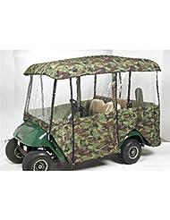 Greenline 4 Passenger Drivable Golf Cart Enclosure (Camo, 106x47.5x62-Inch) by Greenline 4 Passenger Driveable Enclosures