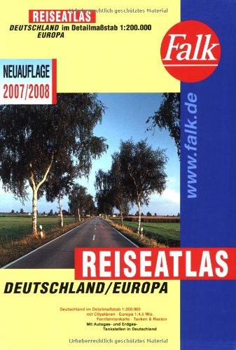Download Falk Reiseatlas Deutschland /Europa 2007/2008: 1:200.000
