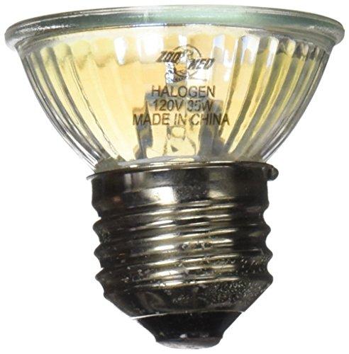 Zoo Med HB-35NE Nano Halogen Heat Lamp 35 W - Licht und Wärme für Nano Terrarien