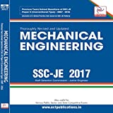 This study material of SSC-JE Mechanical Engineering Conventional book contains the previous years solved papers (2007- 2016) which is arranged as per requirements of the latest syllabi of SSC-JE. The subject wise division will help student to figure...