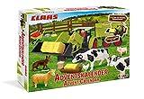 CRAZE Adventskalender CLAAS Maschinen 2019 Weihnachtskalender für Jungen Spielzeug Kalender tolle Inhalte 19597