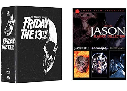 Ultimate Jason Voorhees Horror DVD Collection: Friday the 13th: The Complete TV Series (Seasons 1, 2, & 3) / Jason Slasher Collection: Jason Goes to Hell / Jason X / Freddy vs. Jason
