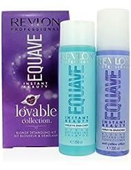 Revlon Professional - Coffret Lovable Collection Kit blondeur et demelant equave avec shampooing 250Ml + conditionneur 200Ml