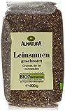 Alnatura Bio Leinsamen, geschrotet, 6er Pack (6 x 400 g)