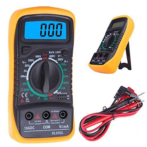 Polimetro Multimetro Digital Voltimetro Profesional Tester Voltimeter Medidor