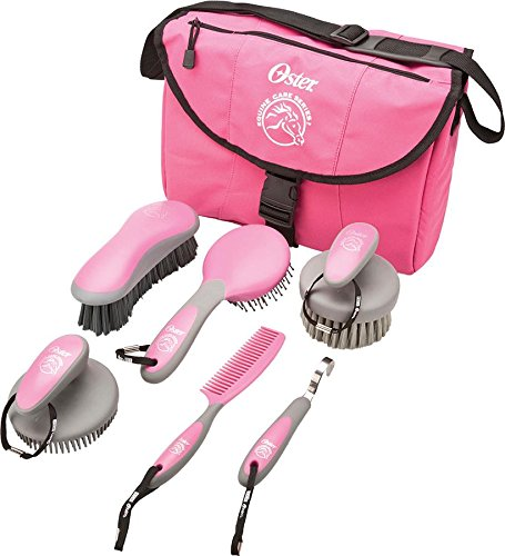 oster-equine-care-series-7-piece-grooming-kit-pink