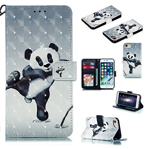 Nadoli Wallet Handyhülle für iPhone 8 4.7