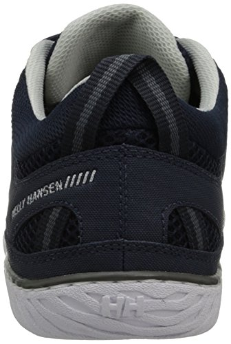 Helly Hansen Herren Sailpower 3 Bootsschuhe Blau (597 NAVY / WHITE / MID GREY)