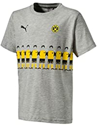 Puma BVB Fan Wear 2 – Camiseta, Infantil, 754106, ...