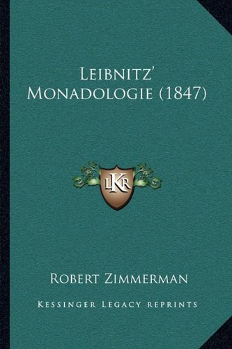 Leibnitz' Monadologie (1847)