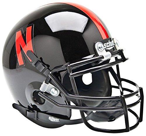 NCAA Nebraska Cornhuskers Sammlerstück Alt 1Mini Helm, schwarz
