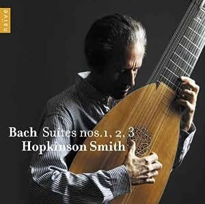 J. S. Bach : Suites pour luth n° 1, 2 et 3 BWV 1007-1009
