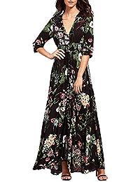 new styles 12043 01aff Amazon.it: abito camicia - Lungo / Vestiti / Donna ...