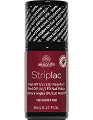 Alessandro Striplac 26/126 Velvet red,1er Pack (1 x 8 ml)