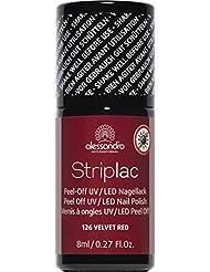 alessandro Striplac 26/126 Velvet Red,1er Pack (1 x 8 ml)