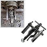 3-jaw Innenabzieher Gear Extractor Heavy Duty Automotive Maschine Tool Kit Größe 200x 135mm 3Backen für entfernt alle sleeve-type Kugellager mit 1/5,1cm–5,1cm Innen Durchmesser