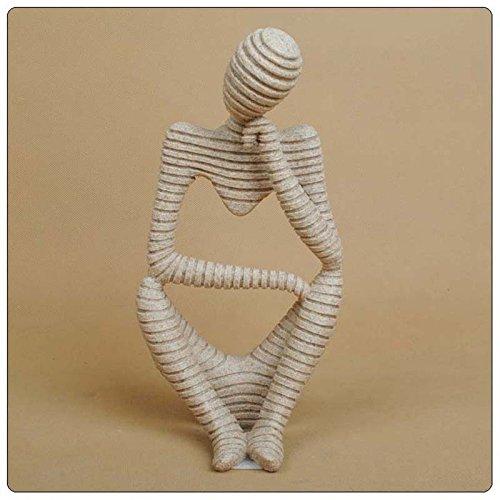 Escultura Estatua Figurilla Forma Pensador