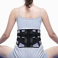 LeaderPro Rückenstützgürtel Rückenbandage Rücken Gurt zur Haltungskorrektur Lindert Schmerzen Rückenstützgurt... preisvergleich bei billige-tabletten.eu