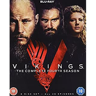Vikings - The Complete Season 4 (Blu-ray) [UK Import]