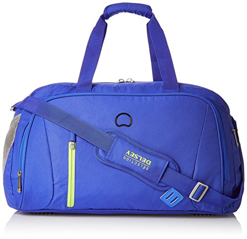 Delsey Gateway Soft 55Cm Blue Carry-On Duffel (00300741002)