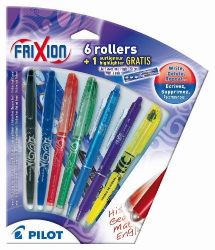 pilot-2260b7-frixion-juego-de-bolgrafos-roller-incluye-2-frixion-ball-2-frixion-point-2-frixion-clic