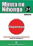 Minna No Nihongo 2-1 Translation & Grammatical Notes