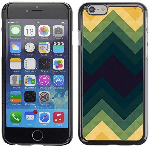 Graphic4You GLITCHY Muster Harte Hülle Case Tasche Schutzhülle für Apple iPhone 6 Plus / 6S Plus Design #12