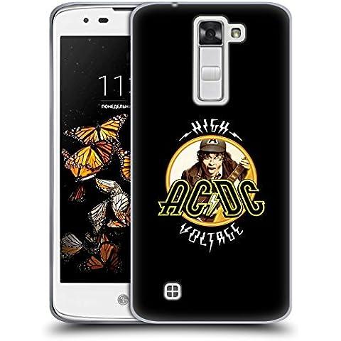 Ufficiale AC/DC ACDC High Voltage Titoli Canzoni Cover Morbida In Gel Per LG K8