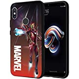 MTT Iron Man Infinity War Officially Licensed Armor Back Case Cover for Redmi Note 5 Pro (Design 248)