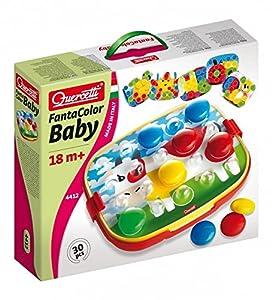 Quercetti - 13/4412 - Juego Fantacolor Baby Vaca Quercetti 18m+