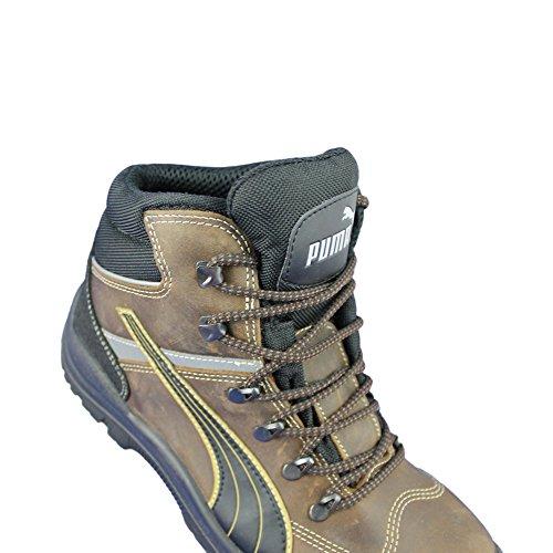 Puma sicherheitsschuh s3 sRC chaussures de travail chaussures berufsschuhe businessschuhe chaussures marron Marron - Marron