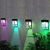 rameng Akkus wechselndem-Farbe Licht-Garten Solar Licht Außen Wasserdicht IP65Für Weg