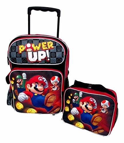 cartable-trolley-sac-a-dos-super-mario-power-up-noir-40cm-x-30cm