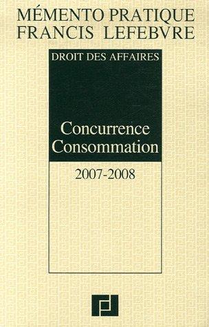 Concurrence Consommation : Droit des affaires
