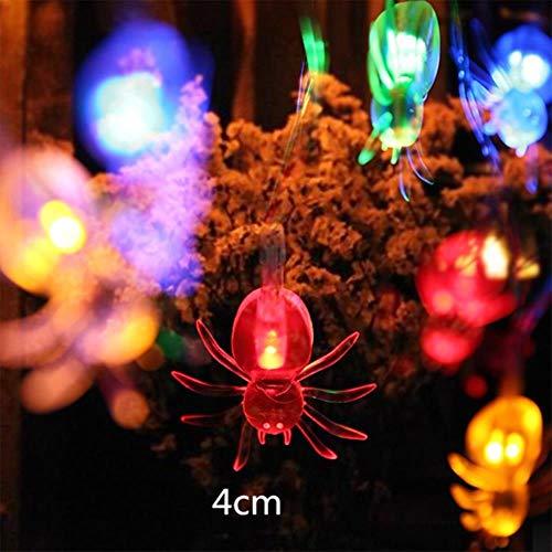 Halloween Dekor Ghost - TTYAC 10 LED Laternen Lampe für